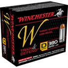 TRAIN & DEFEND AMMO 380 AUTO 95GR JHP