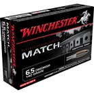 MATCH AMMO 6.5MM CREEDMOOR 140GR BTHP