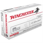 USA WHITE BOX AMMO 25 ACP 50GR FMJ