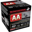 "AA SUPERSPORT AMMO 410 BORE 2-1/2"" 1/2 OZ #7.5 SHOT"