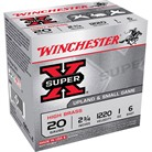"SUPER-X HIGH BRASS AMMO 20 GAUGE 2-3/4"" 1 OZ #6 SHOT"