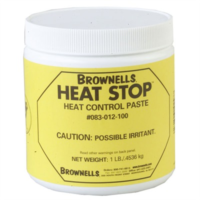 Brownells Heat Stop? Heat Control Paste