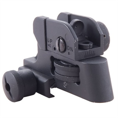 Buy Global Military Gear Ar-15/M16 Clamp On Rear Sight