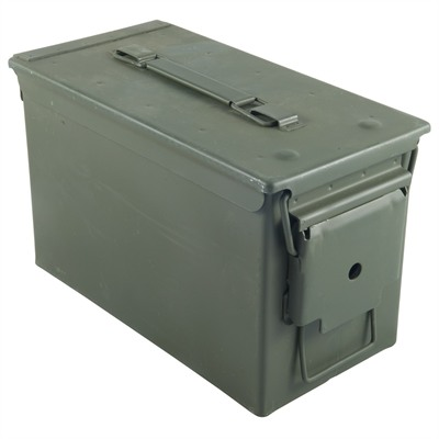 Brownells 50 Caliber Ammo Can Steel Green