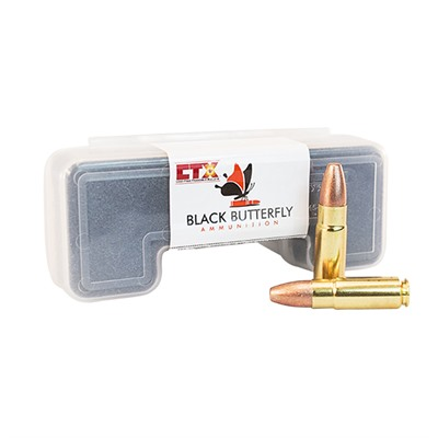 Black Butterfly Ammunition Premium Lead Free Frangible Ammo 458 Socom 306gr Ctx