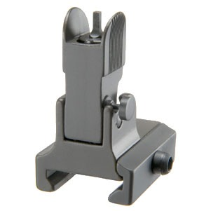 Ar-15/M16 Backup Flip-Up Front Sights