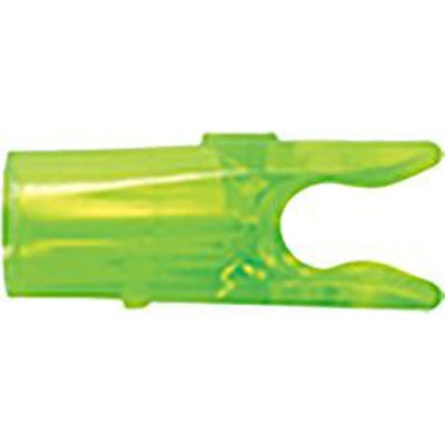 Small Groove Pin Nock, Green