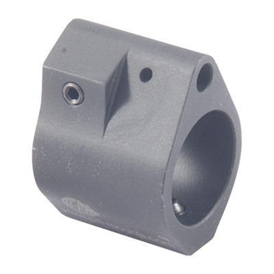 Ar-15 Adjustable Low-Profile Gas Block