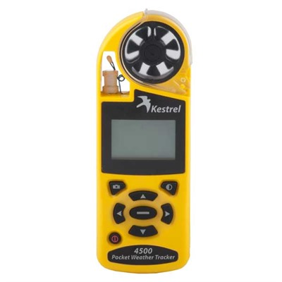 Kestral 4500 Weather Tracker