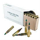 WIN AMMO 5.56 62GR FMJ GREENTIP