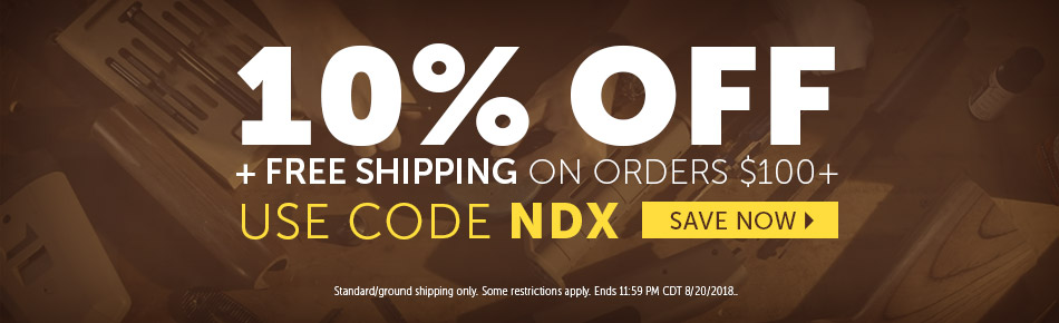 10% off $100 and Free Shipping