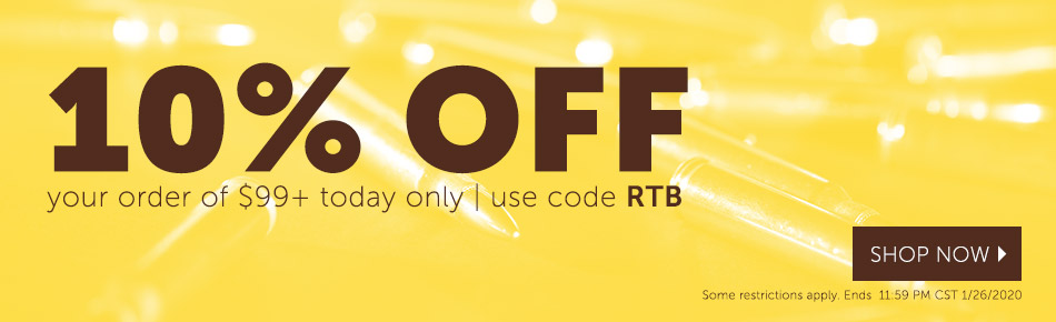 Save 10% off Orders Over $99 Today!