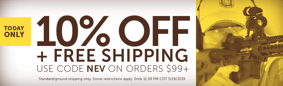 10% off $99 and Free Shipping