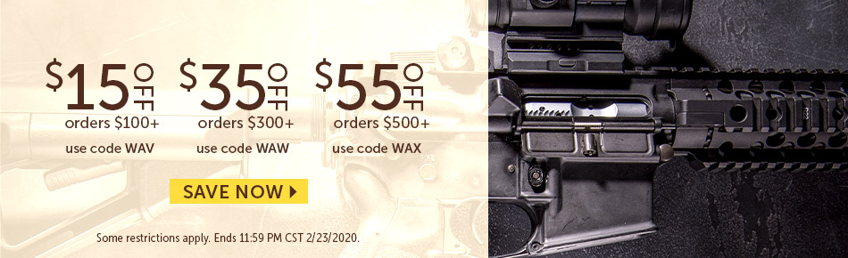 Save $15, $35 or $55 Today!