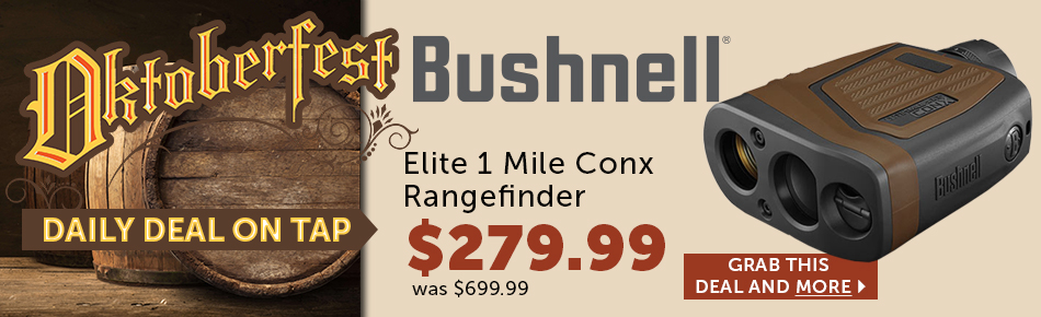 Bushnell Daily Deal on Tap