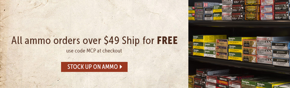 All Ammo over $49 Ships Free!