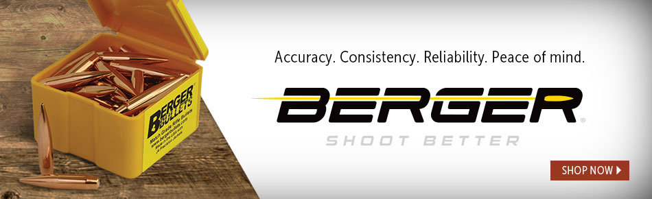 Accuracy.. Consistency. Reliability. Peace of mind. Berger