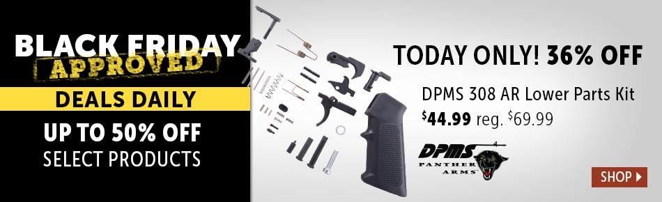 Today's Deal - DPMS 308 AR Lower Parts Kit