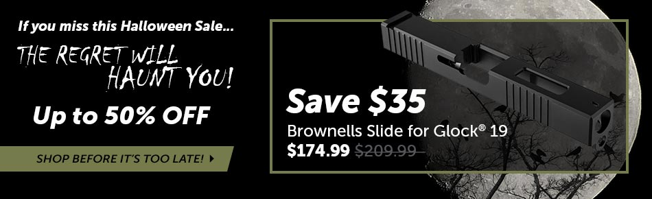 Save $35 on Brownells Slide for Glock