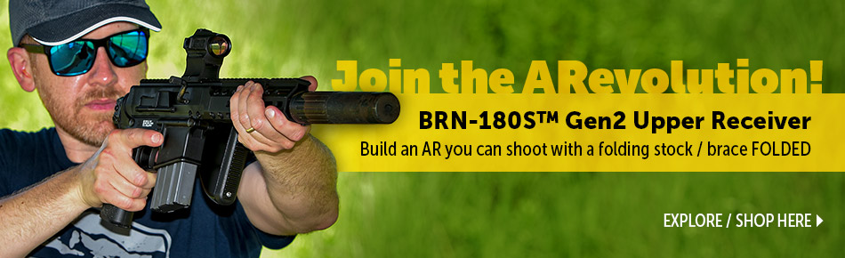Shop BRN-180s Gen 2 Upper Receiver