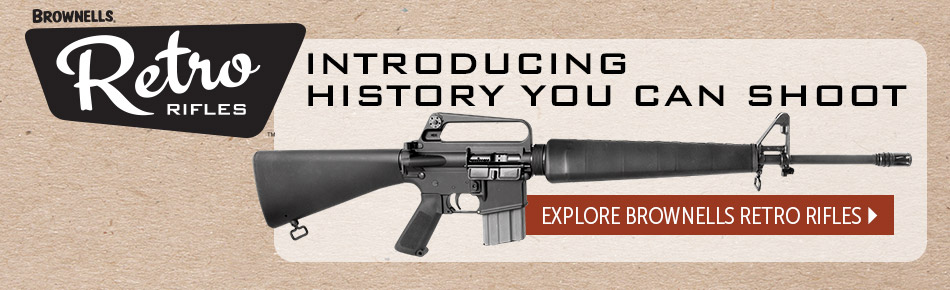 Brownells Retro Rifles