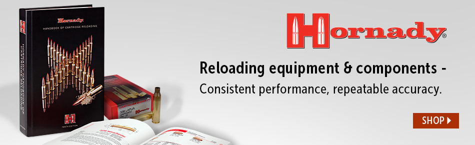 Hornady Reloading Equipment and Components