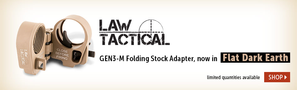 Law Tactical FDE Stock Adapter