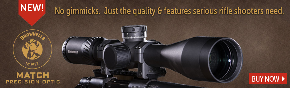 Buy Brownells MPO Scope Now