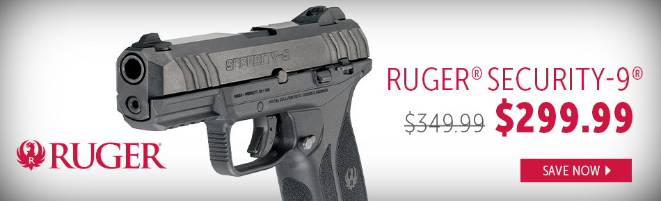 Ruger Security 9 Handgun