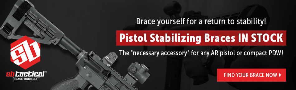 SB Tactical Find Your Brace Now