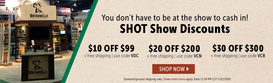 Shop Shot Show Sales