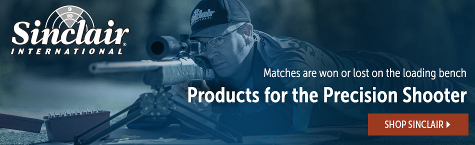 Products for the Precision Shooter