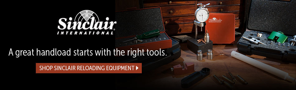 Shop Sinclair Reloading Equipment