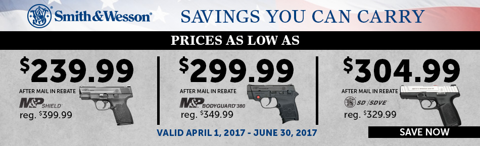 S&W Savings you can Carry
