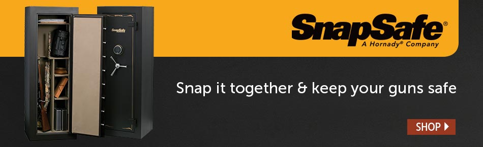 Snapsafe - Snap it together and keep your guns safe