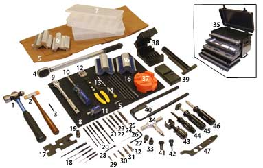 Tools For Working On Ars At Shop Home Garage