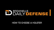 Daily Defense #17: How To Choose a Holster