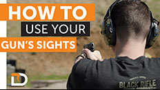 Daily Defense Season 2 EP 13: How To Use Your Pistol's Sights
