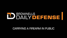 Daily Defense #7: Carrying a Firearm in Public