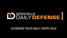 Daily Defense #8: Choosing Your Daily Carry Gun