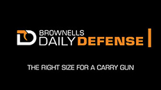 Daily Defense #9: The Right Size for a Carry Gun