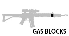 AR-15 Gas Blocks