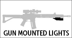 AR-15 Gun Mounted Lights