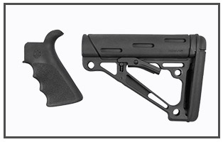 Hogue - AR 15 Finger Groove Gripa nd Collapsible Buttstock