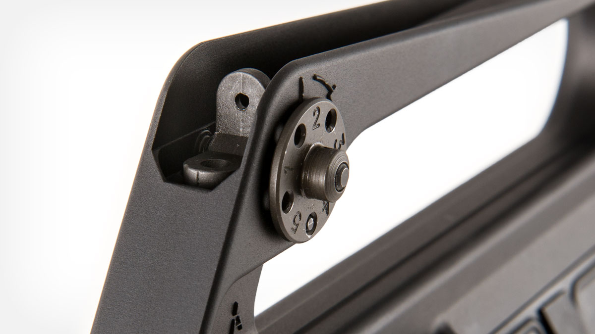 brownells-retro-rifle-line/brn-601 Rear Sight Detail