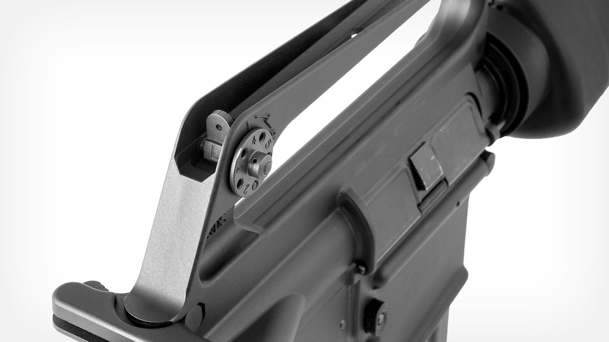 brownells-retro-rifle-line/xbrn16e1 Rear Sight Detail