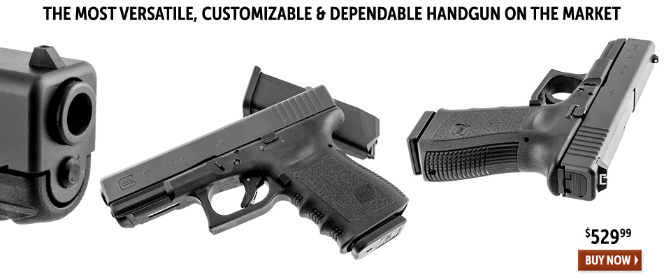 The most versatile, customizable and dependable handgun on the market. Buy now!