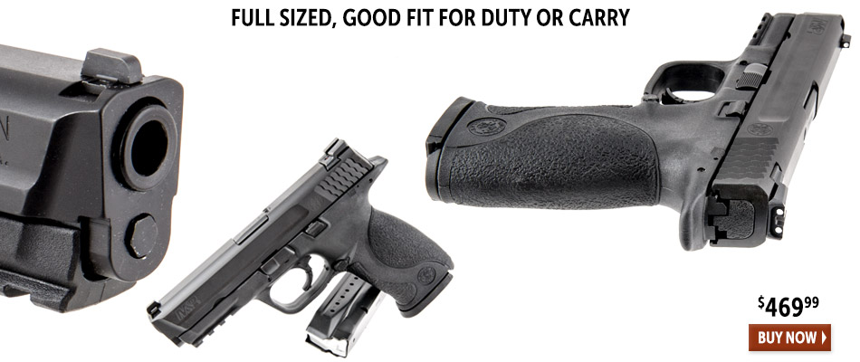 Full sized, good fit for duty or carry