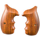 AHRENDS - S&W REVOLVER EXOTIC WOOD GRIPS