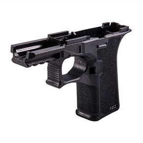 BLACK 80% FRAME AGGRESSIVE TEXTURE FOR GLOCK<sup>®</sup> 19/23/32
